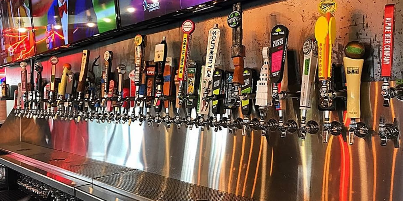Ann Arbor Restaurant And Beer Garden Enjoy 70 Beers On Tap From